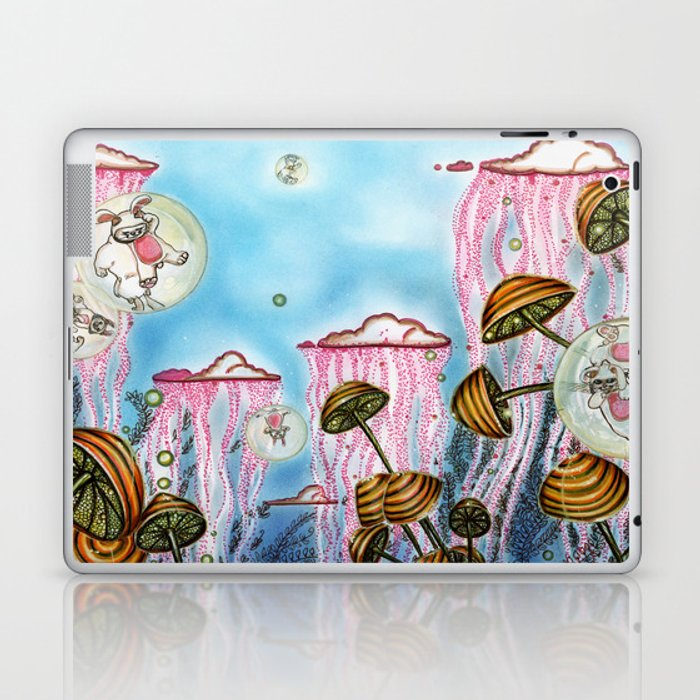 Bubble cats Laptop & iPad Skin