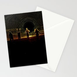 Figures in the Sun Stationery Cards