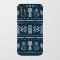 sweater iPhone & iPod Cases featuring Who's Sweater by Mandrie