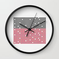 deco Wall Clocks featuring Deco by La niña bipolar