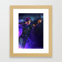Spark of Honor - Leigh Framed Art Print