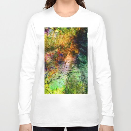 ink in wood Long Sleeve T-shirt