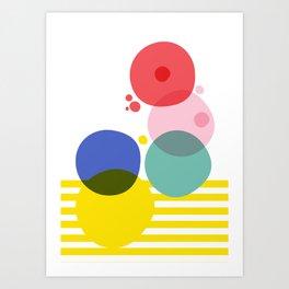 Cellular Evolved III Art Print