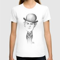 kafka T-shirts featuring Kafka by Liliana Ostrovsky