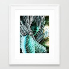 Winter she comes... Framed Art Print