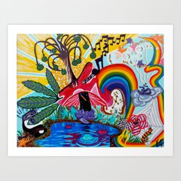 Life Could be a Dream Art Print