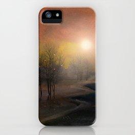 Calling The Sun IX iPhone Case