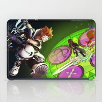 kingdom hearts iPad Cases featuring Kingdom Hearts : Sora Vs. Xehanort by Paul Giovinco