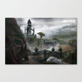 Grimstone Tower Canvas Print