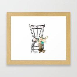 My Charmed Cottage Logo Print Framed Art Print
