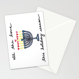 All the Love this Hanukkah Stationery Cards
