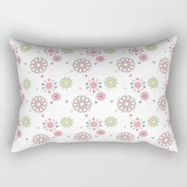 Candy cane pattern 5 Rectangular Pillow