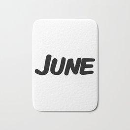 June Bath Mat
