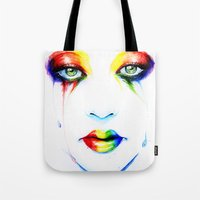 new order Tote Bags featuring New Order by Isaiah K. Stephens
