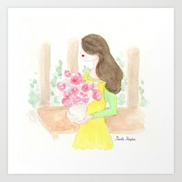 Flower Therapy Art Print