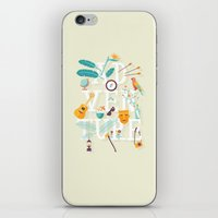 adventure iPhone & iPod Skins featuring Adventure  by Wharton