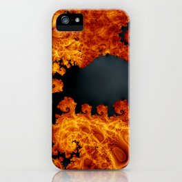 Fractal Art - Capricorn iPhone Case