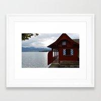 switzerland Framed Art Prints featuring Switzerland by Mackenzie Lee