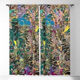 Spiky Succulents Blackout Curtain