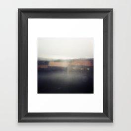 Neverending winter Framed Art Print