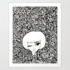 The Wallflower Art Print