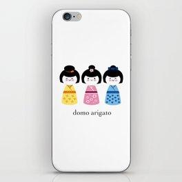 Thank you - Domo Arigato iPhone Skin