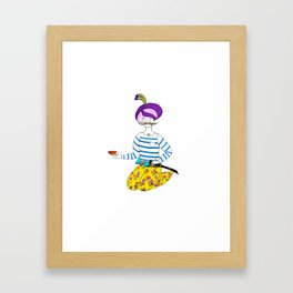 Persian Prince Framed Art Print