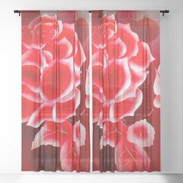 Flowermagic - China art Sheer Curtain