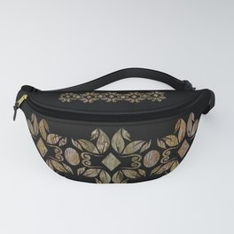 Contemporary Grain Patterns Fanny Pack