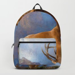 Edwin Henry Landseer - The Monarch of the Glen - Digital Remastered Edition Backpack