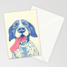 Pointer dog - Jola 01 Stationery Cards