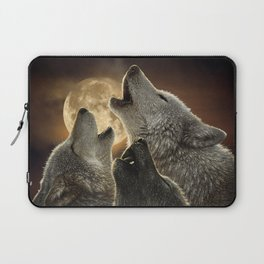 Wolf Trinity Laptop Sleeve