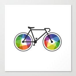 Geometric Bicycle Canvas Print