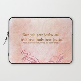 Join your Hands Laptop Sleeve