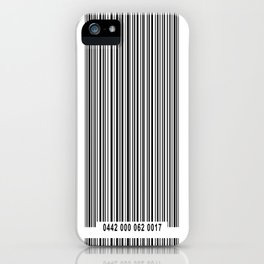 Barcode 1 iPhone Case