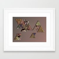 mineral Framed Art Prints featuring mineral by Elva Salinas