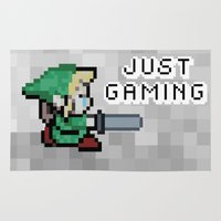 gaming Area & Throw Rugs featuring JUST GAMING by Edgar