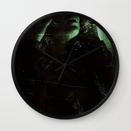Suicide Witch in Critique I Wall Clock