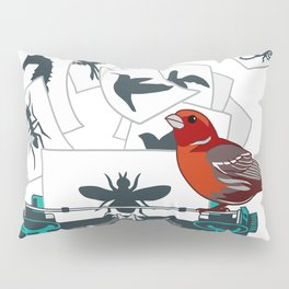 Alphabet of Life Pillow Sham