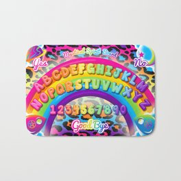 1997 Neon Rainbow Spirit Board Bath Mat