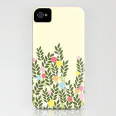 graphic flowers iPhone (4, 4s) Slim Case