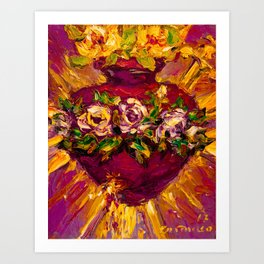 Sacred love II Art Print
