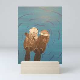 Otter Love - Saratoga Mini Art Print