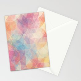 lines and colors Stationery Cards
