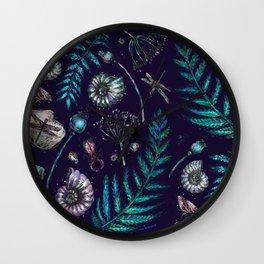 Mystical natural pattern Wall Clock
