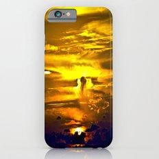 Fire sunset iPhone 6s Slim Case