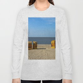 Autumn At The Seaside Long Sleeve T-shirt