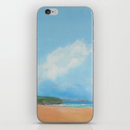 Art print - Beach and sky iPhone Skin