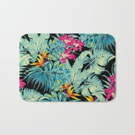 Tropical Greenery Island Dreams Bath Mat