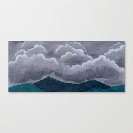 Mountain Rain Canvas Print